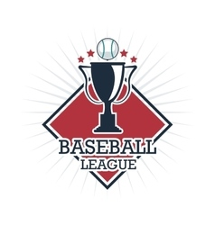 Baseball trophy Sport design graphic vector