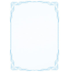 Blue frame with protective grid vector