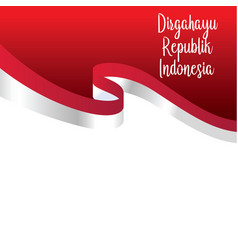 happy independence day indonesian translation vector 25325055