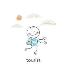 Tourist vector