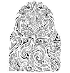 Tribal art sleeve design vector
