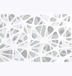 white abstract background design vector image