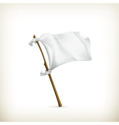 White flag vector