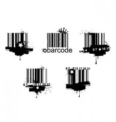 barcodes vector image