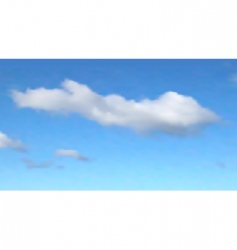 one cloud vector image