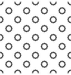Loading pattern simple style vector image