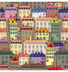 Urban development vector