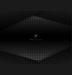 abstract design halftone black and gray background vector image