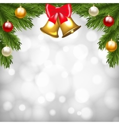 Christmas shiny card vector