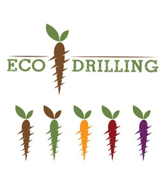 Eco drilling vector