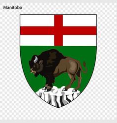 Emblem of alberta province of canada vector