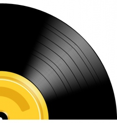 record vector image