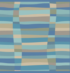 trendy abstract glitch colorful seamless pattern vector image