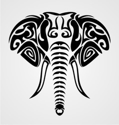 Tribal Elephant vector