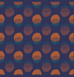 Tribal seamless pattern in african style colorful vector