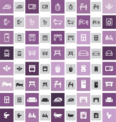 20 home icons vector image
