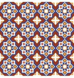 Abstract arabic islamic seamless geometric vector image