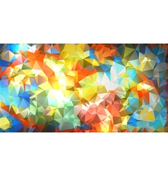Abstract Vibrant Geometric Background vector