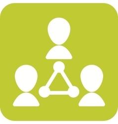 Customer Network vector
