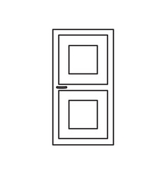 door line icon vector image