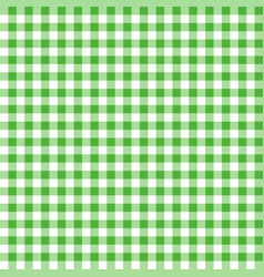 Green seamless table cloth texture vector