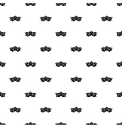 Hop cone pattern simple style vector