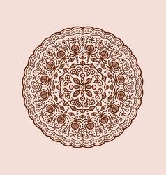 Pattern round vector
