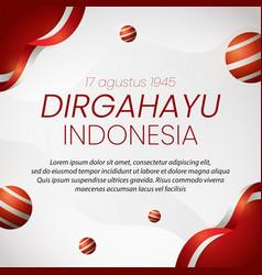 Social media instagram post banner indonesia vector