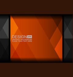 orange abstract backgrounds design vector image vector image
