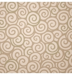 Abstract swirl wallpaper seamless pattern vector image