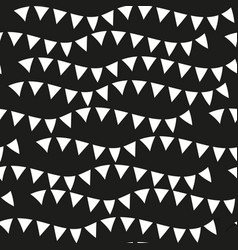 black monochrome seamless patterns geometric vector image vector image