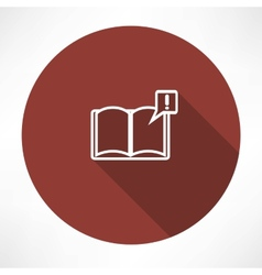 books with symbol vector image vector image