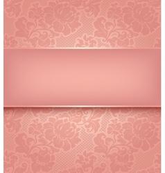 Floral ornamental background vector