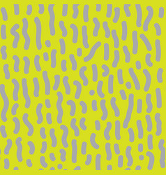 seamless pattern with dashed lines vector image vector image