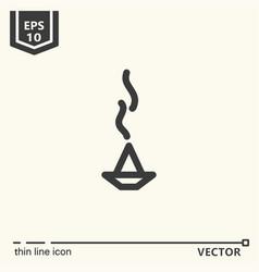 Ayurvedic supplies - icon series vector