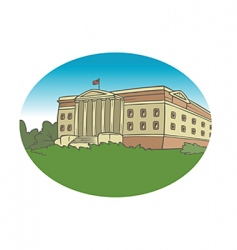 university background vector image vector image