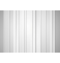 Abstract grey minimal striped tech background vector