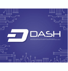 Background dash blockchain style collection vector