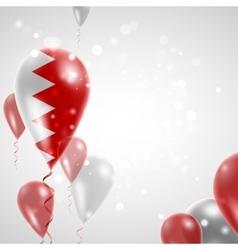 Flag of bahrain vector