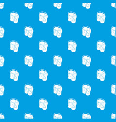 jeans pattern seamless blue vector image