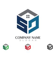 S letter logo business template vector