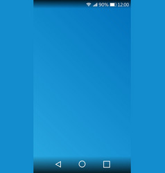 screen smartphone for user interface design vector image