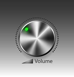 Volume button vector