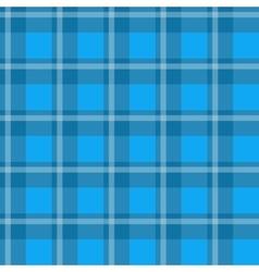 Blue plaid fabric vector