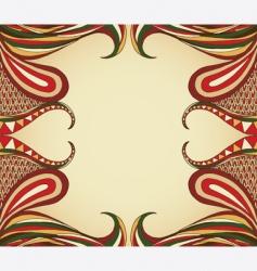 swirl layout vector image vector image