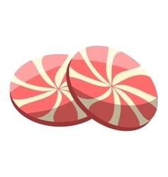 Lollipop sweet dessert vector image