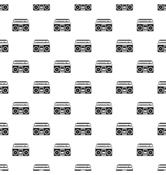 Boombox pattern simple style vector