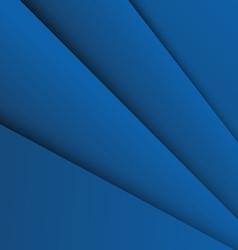 Dark blue overlap layer paper material design vector
