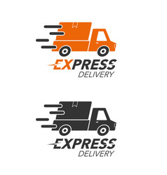 Express delivery icon concept pickup service vector