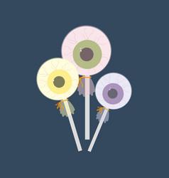 eye balls candy vector image